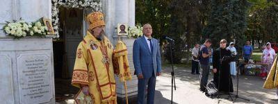 Мэр Белгорода принял участие в торжествах в честь Дня Крещения Руси