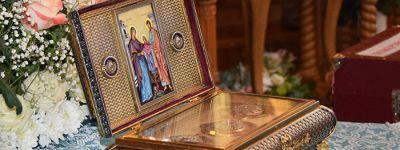 Ковчег с частицей Пояса Пресвятой Богородицы прибыл в Белгород