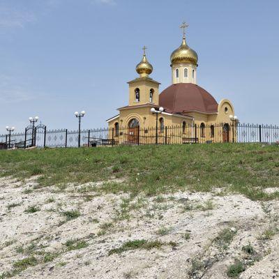 Храм великомученика Фёдора Стратилата в Старом Осколе