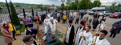 Вознесенский храм села Стрелецкое встретил престольный праздник вместе с митрополитом Белгородским
