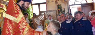 «Православное Осколье» рассказало, как живёт храм святого великомученика Феодора Стратилата в Старом Осколе