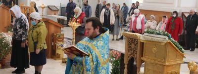 Епископ Валуйский совершил праздничную Божественную литургию в Свято-Николаевском кафедральном соборе