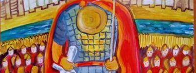 Юная художница из Волоконовки стала вице-чемпионом областного этапа конкурса «Наследие святого благоверного князя Александра Невского»