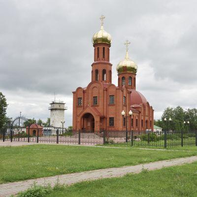 Свято-Троицкий храм в посёлке Троицкий