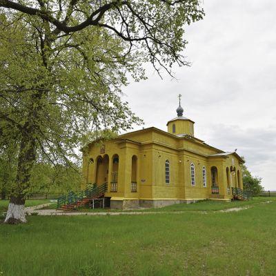 Храм пророка Божиего Илии в селе Самойловка
