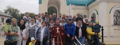 Божественная литургия на языке жестов совершена в храме Ксении Петербургской в Губкине