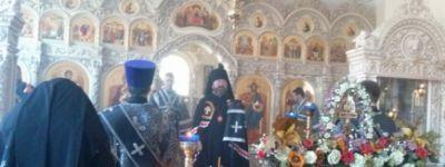 В Богородице-Тихвинском монастыре впервые отслужили архиерейским чином Литургию Преждеосвященных Даров