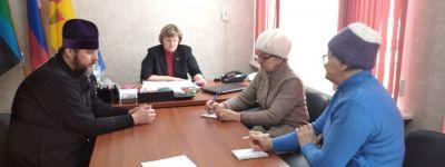 Волоконовский благочинный принял участие в заседании комиссии по увековечиванию памяти героев