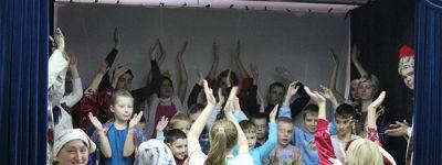 В храме Сергия Радонежского в Старом Осколе организовали праздник для семей, воспитывающих детей-инвалидов