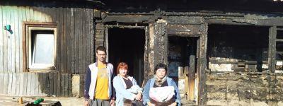 Прихожане соборного храма святителя Николая в Грайвороне собрали помощь для погорельцев