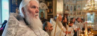 В Георгиевском храме села Скородное совершено отпевание старейшего клирика Губкинской епархии