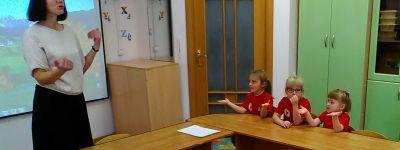 Необычный урок английского языка провели в белгородском православном детском саду