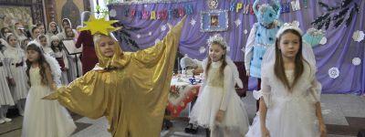 Рождественский утренник состоялся в Спасо-Преображенском кафедральном соборе в Губкине