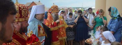 Торжественно отметили в Белгородской митрополии день памяти святых новомучеников и исповедников Белгородских