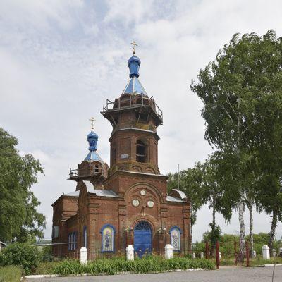 Храм великомученика Димитрия Солунского в селе Дмитриевка