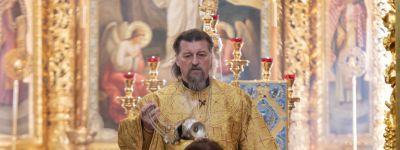 Глава Белгородской митрополии совершил Божественную литургию в храме святых мучениц Веры, надежды, Любови и матери их Софии