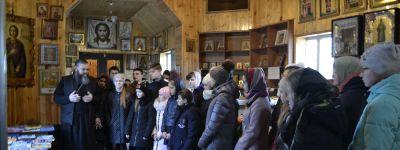 В Ильинском храме села Верхососна для школьников организовали праздник православной книги