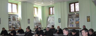 Собрание духовенства I-го Губкинского благочиния посвятили предстоящему празднику Преображения Господня
