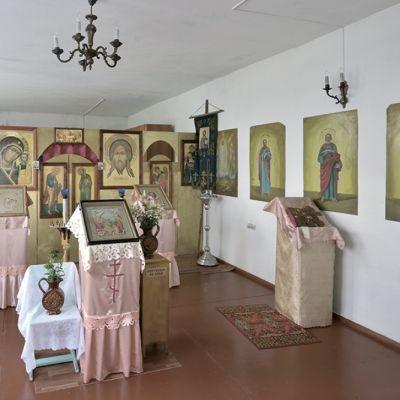 Храм в честь Казанской иконы Божьей Матери в селе Владимировка