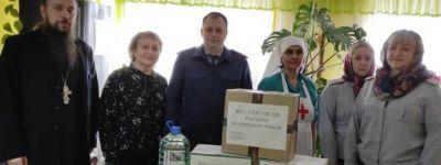 Белгородский священник, окормляющий хоспис белгородского Красного Креста, выступил с докладом на круглом столе о помощи пожилым людям