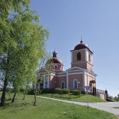 Храм Казанской иконы Божией Матери в селе Плоское