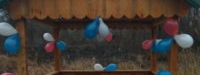 В Касеновке освятили новый благоустроенный колодец