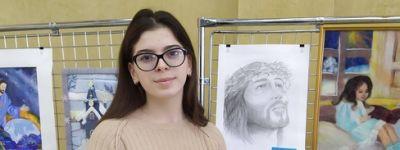 Школьница из Красного стала призёром областного православного творческого конкурса