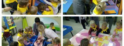 Выставку в Белгородском краеведческом музее посетили воспитанники группы «Солнышко» белгородского православного детского сада
