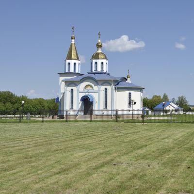 Храм Успения Пресвятой Богородицы в посёлке Пролетарский
