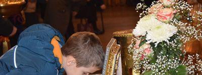 Три дня в Старом Осколе пребывал ковчег с частью Пояса Богородицы