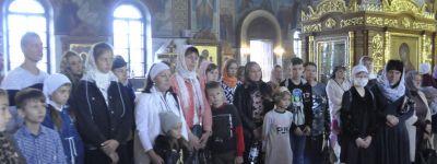 Новый учебный год начался в Воскресной школе Спасо-Преображенского кафедрального собора в Губкине