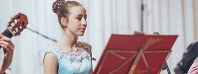 Сводный оркестр русских народных инструментов дал Рождественский концерт в селе Дунайка