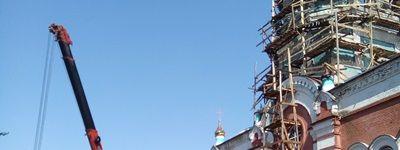 Храм апостола и евангелиста Иоанна Богослова в Козинке обретает новую жизнь
