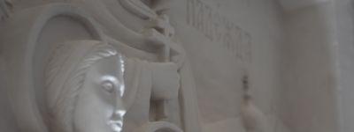 В Неделю 4-ю Великого поста митрополит Белгородский совершил литургию в  Троицком пещерном храме Свято-Троицкого Холковского монастыря
