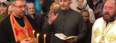 Молебен с водосвятием и чтением акафиста «Слава Богу за всё» совершили в Губкине