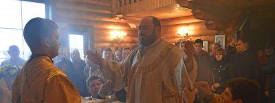 В день памяти Димитрия Ростовского епископ Губкинский совершил литургию в Дмитриевке