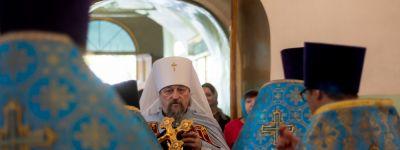 День памяти чудесного явления 316 лет назад Смоленско-Белгородской иконы Божией Матери отметили в Белгороде