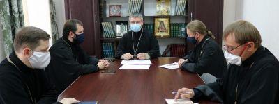 Совещание руководителей епархиальных отделов Губкинской епархии прошло в епархиальном управлении