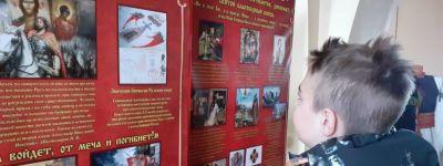 Школьники из Камызинской школы побывали в кафедральном соборе в городе Алексеевка