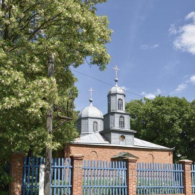 Храм Рождества Иоанна Предтечи в селе Ивановская Лисица