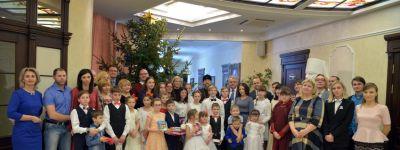 Семейный праздник для сирот и детей из многодетных семей организовали в Белгородской митрополии