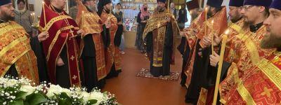 Соборное служение духовенства с участием клирика Русской зарубежной церкви совершено во 2-м Губкинском  благочинии