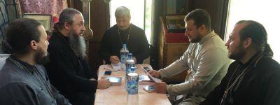 Собрание духовенства состоялось в Краснояружском благочинии