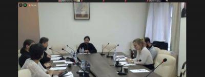 Руководитель Курсов подготовки церковных специалистов Белгородской семинарии принял участие вебинаре Учебного комитета Церкви