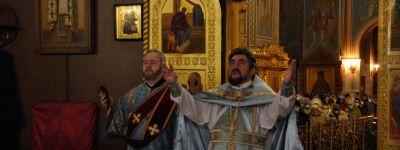В Спасо-Преображенском соборе в Губкине отметили праздник Благовещения
