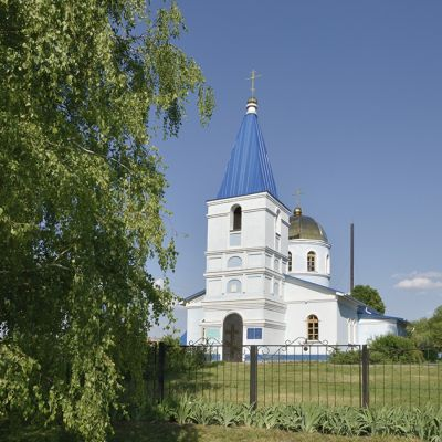 Храм святителя Николая Чудотворца в селе Кривцово