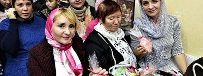 Праздник матери прошел в приходе храма Сергия Радонежского в Старом Осколе