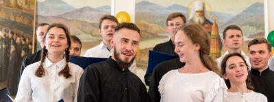 Выпускной в двадцатый раз прошёл в Белгородской духовной семинарии