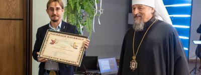Митрополит Белгородский поздравил журналистов с Днём печати