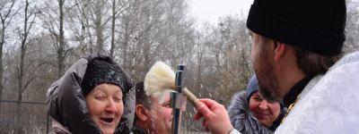 Крещение встретили в Смородино, Дроновке и в Порозе